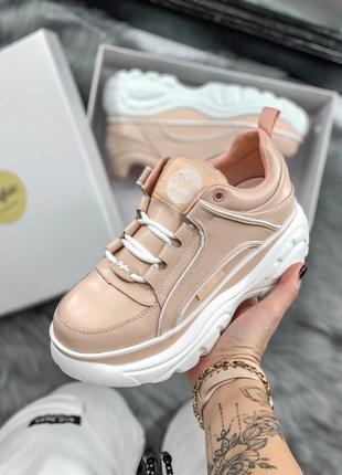Жіночі кросівки Buffalo Pink | Женские кроссовки платформа