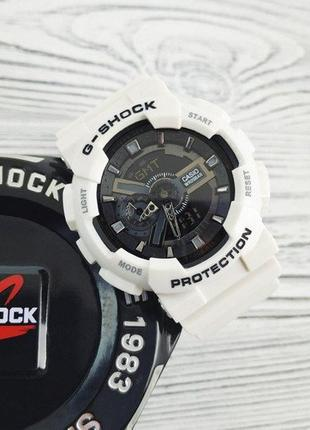 Часы Casio G-Shock White-Black New