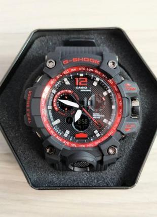 Часы Casio G-Shock MTG-G1000 Black-Red New
