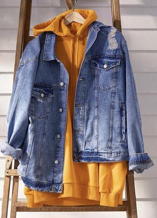 Джинсовая куртка h&m из денима !