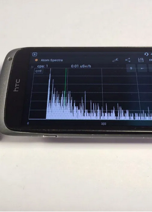 Дозиметр / спектрометр / счетчик гейгера для смартфона