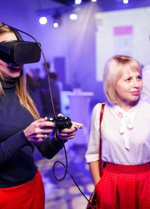 Аренда\прокат шлемов и аттракционов VR HTC, Oculus, Valve index