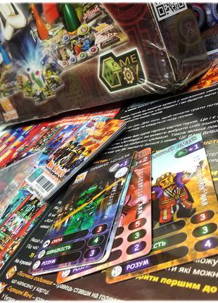 Игра ХотКардс, Пластиковые игровые коллекционные карточки
