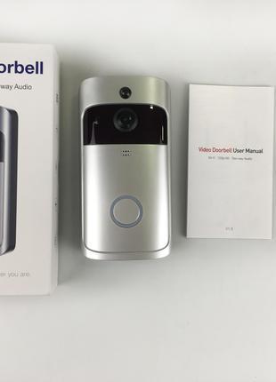 Дверная Видеокамера Звонок Smart Doorbell Домофон CAD 720P Wi-fi