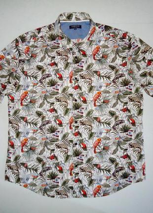 Рубашка гавайская m&s limited гавайка (xl)