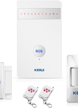 KERUI G25 - Беспроводная GSM сигнализация Android / iPhone