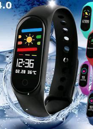 Фитнес-часы М3, смарт браслет smart watch, аналог mi band 3