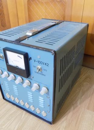 Ламповый усилитель У - 100У 4.2