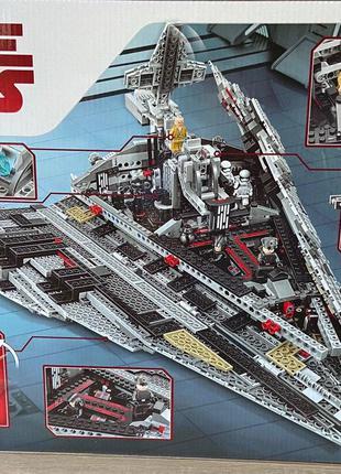 Конструктор 10901 Звездные войны Звёздный разрушитель Первого Орд