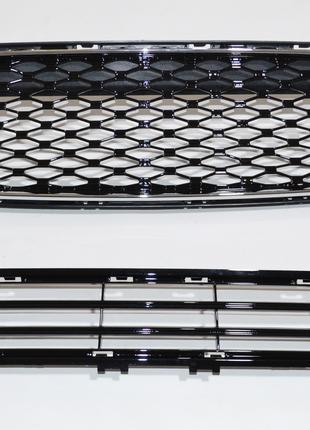 Решетка радиатора и бампера на Ford Fusion mk5 2017