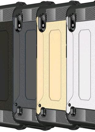 Бронированный противоударный чехол для Samsung Galaxy A10 (A105F)
