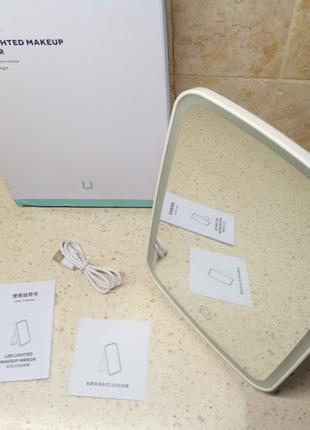 Зеркало Xiaomi JORDAN & JUDY со светодиодной подсветкой