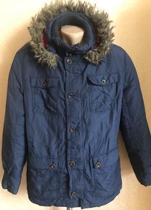 Куртка осінньо зимова парка L(50-52).