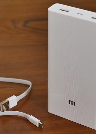 Power bank Xiaomi 20000mAh 2 USB мощный повербанк.