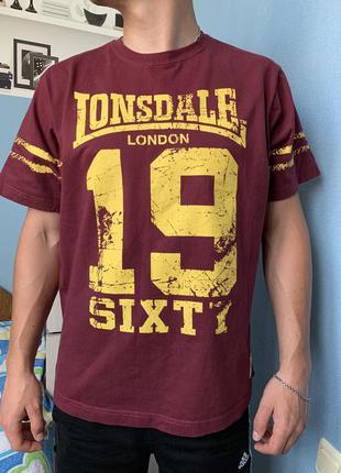Крутая футболка lonsdale london