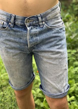 H&m джинсовые шорты
