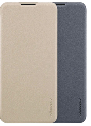 Кожаный чехол (книжка) Nillkin для Samsung Galaxy A10 (A105F)