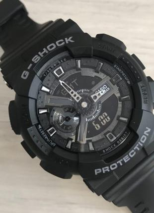 Часы Casio G-Shock GA-110 Black-Silver New