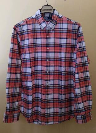 Котоновая байковая мужская рубашка Polo Ralph Lauren
