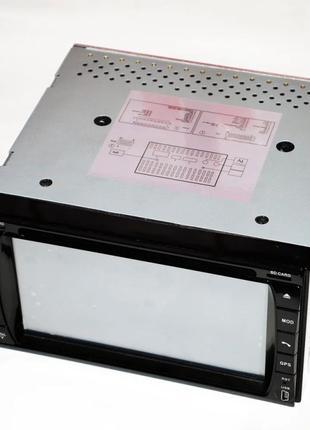 "Магнитола Pioneer Pi999 2din GPS 6,5"" DVD + USB + TV + 8Гб карта"