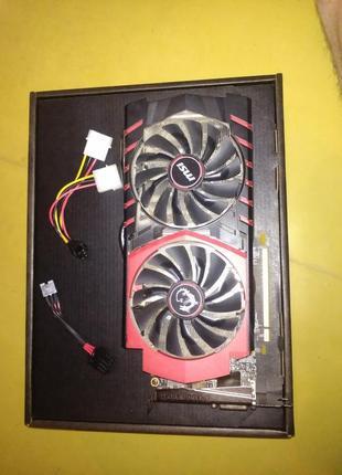 Видеокарта nvidia MSI GTX 970 4 гб
