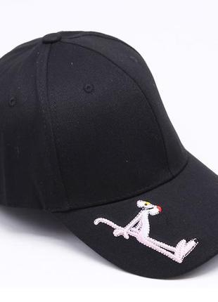 13-221 бейсболка рожева пантера головные уборы кепка панамка