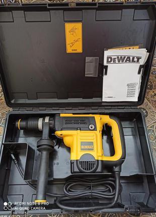 Перфоратор DeWALT D25501, SDS MAХ
