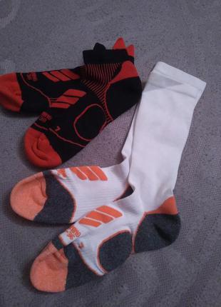 Носки для бега, набор