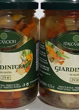 Овочі в винному оцті 314 мл, Італія