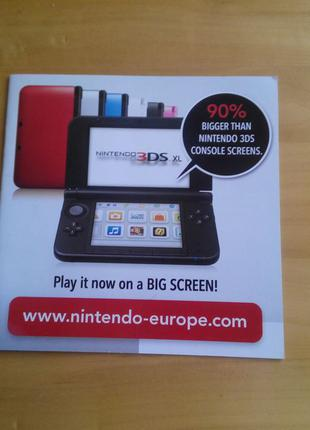 Оригинальный буклет от игры 2DS Nintendo 3DS (DS) в коллекцию