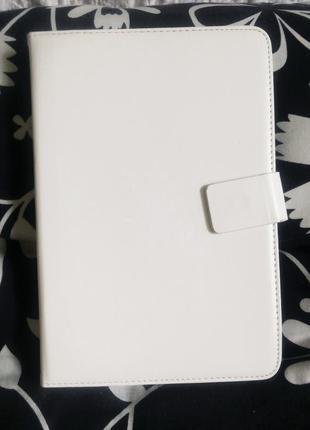 """Белый чехол -книжка для планшета 7"""""""