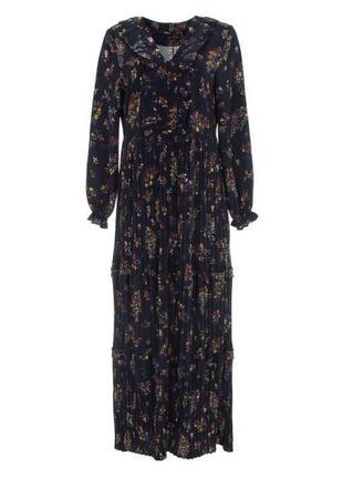 Длинное платье плиссе бренд only