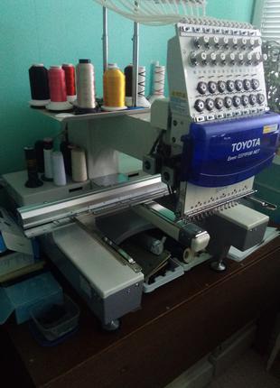 Промышленная вышивальная машина Toyota Expert ESP-9100 NET
