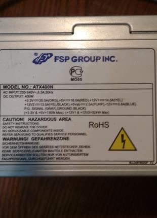 Блок питания FSP GROUP INC ATX400N 400W