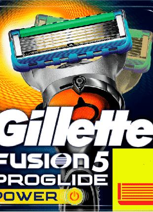 Оригинал Германия лезвия Gillette Fusion Proglide Power