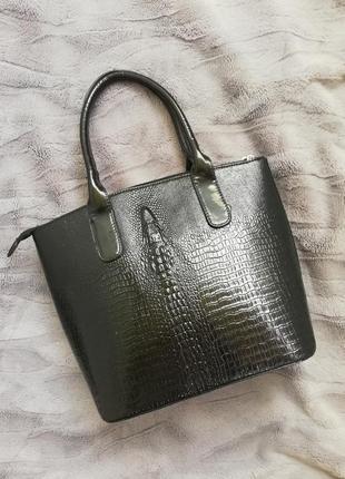Сумка, сумка крокодил