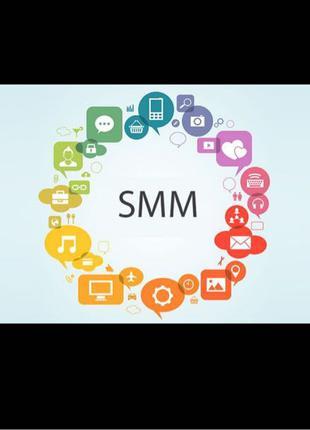 SMM | Таргетинг | Продвижение социальных сетей (Instagram, Facebo