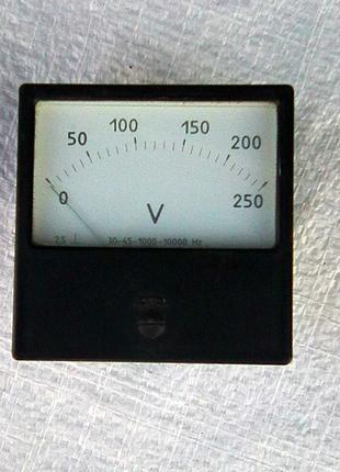 Вольтметр 0-250 В