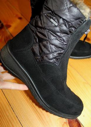 38 разм. зима. ботинки ara gore - tex. термо и не промокают.