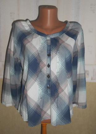 Натуральная стильная блуза bonita р. eur40 наш 44-46