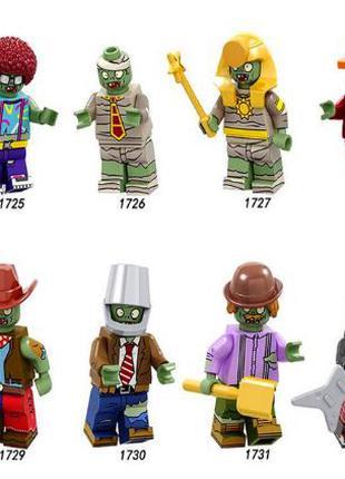 Фигурки зомби лего, lego аналог