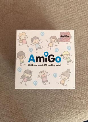 Детские водонепроницаемые смарт часы AmiGo