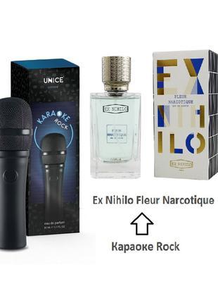 Парфюмированная вода Karaoke Rock. Сравним с Ex Nihilo - Fleur Na