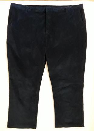 Фирменные брюки штаны вельветы батал