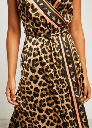 Шикарный сарафан ,леопардовый принт.