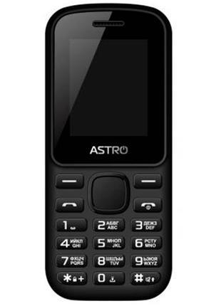 Мобильный телефон Astro A171 Black. Гарантия