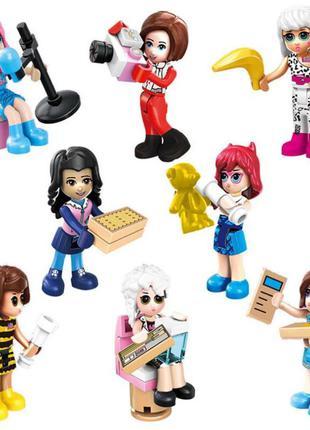 Фигурки, человечки, девочки, друзья лего, lego аналог