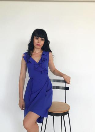_my_exclusive_ платье-волан электрик
