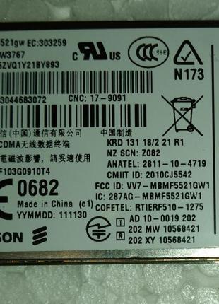Модуль 3G ноутбука Lenovo Thinkpad T420 ERICSSON F5521gw