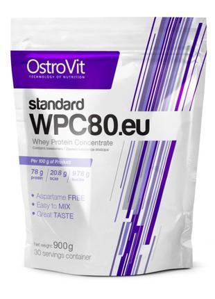 Протеин OstroVit WPC 80 standard 900 г